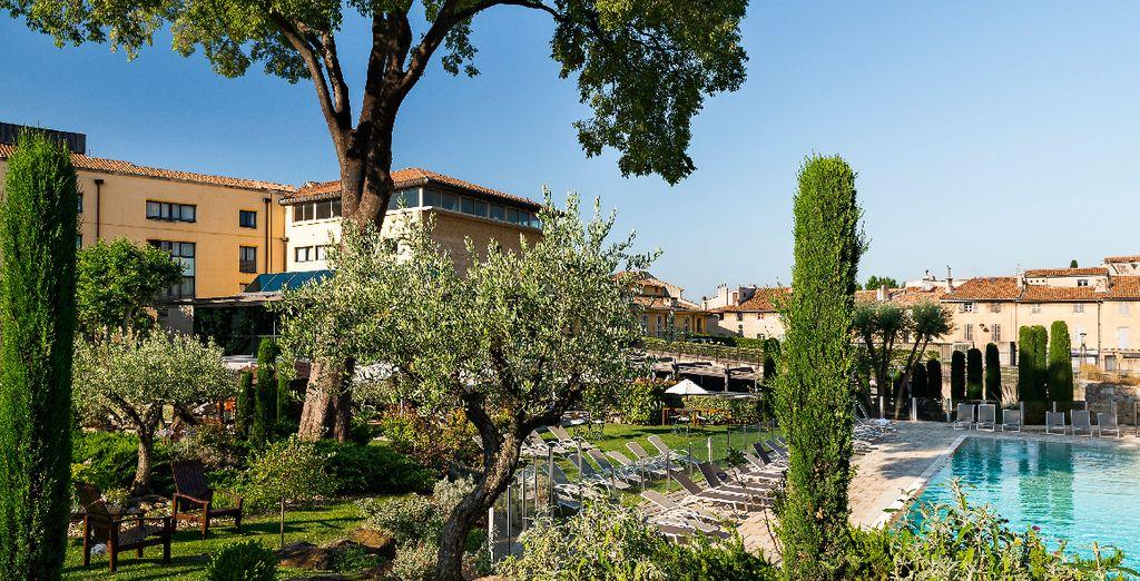 Succombez aux délices d'une escapade bien-être à Aix-en-Provence... - Aquabella Hôtel & Spa 4* Aix-en-Provence