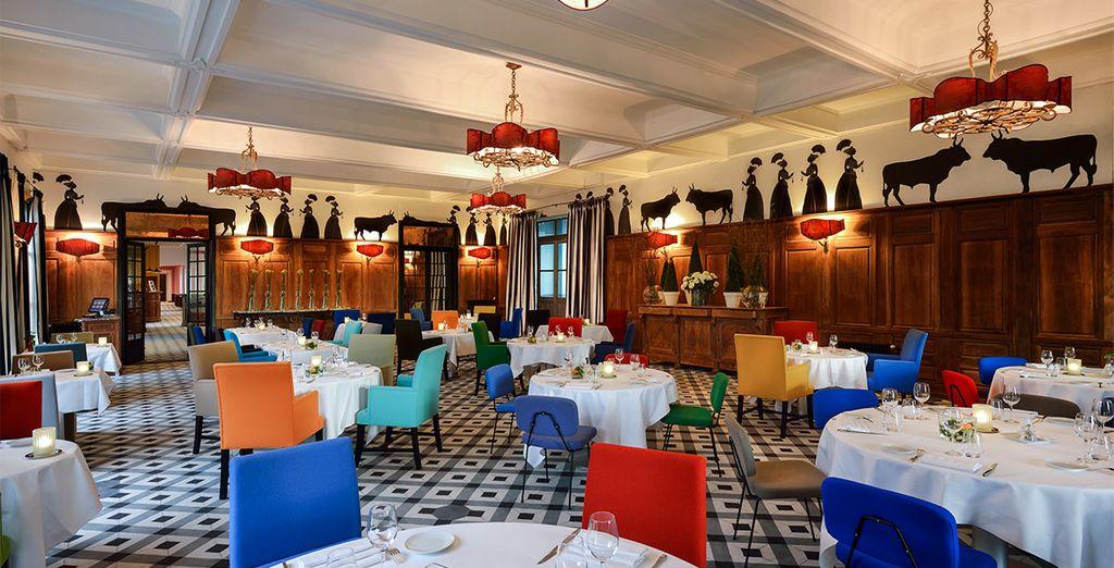 Optez pour une offre incluant le dîner et découvrez le restaurant gastronomique Lou Marquès !