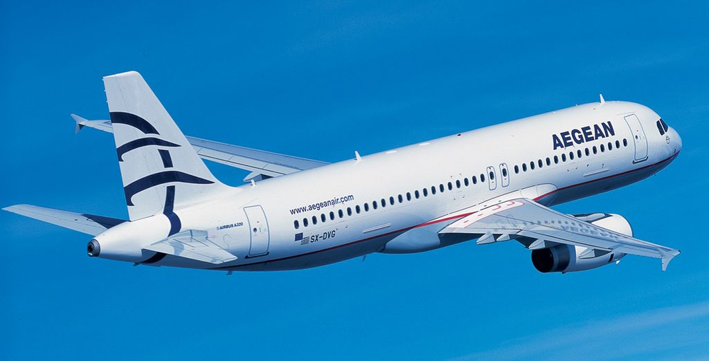 Envie d'un maximum de confort ? Choisissez la compagnie Aegean Airlines