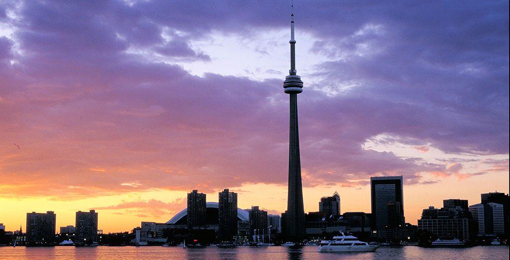Vous terminerez votre périple par Toronto