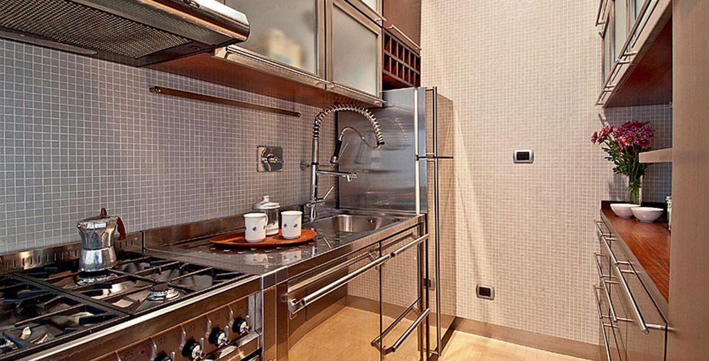 Appartement 1: La cuisine
