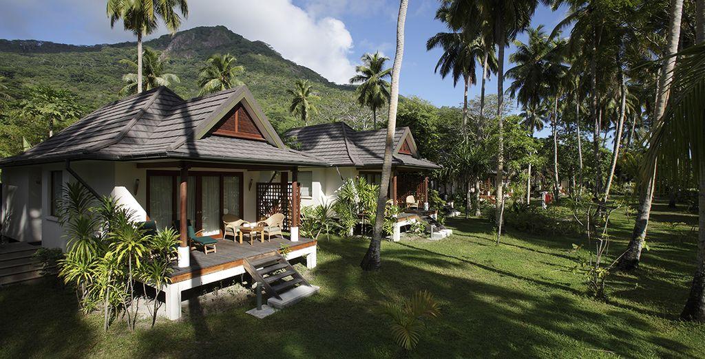 Ou évadez-vous en Garden Villa