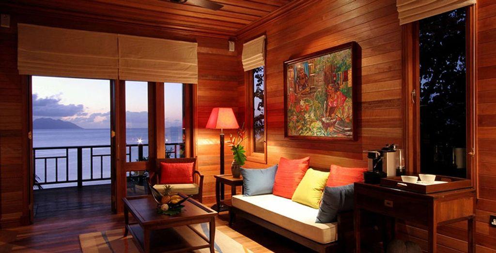 Ou en Hillside Villa, nichée dans la forêt sur les hauteurs