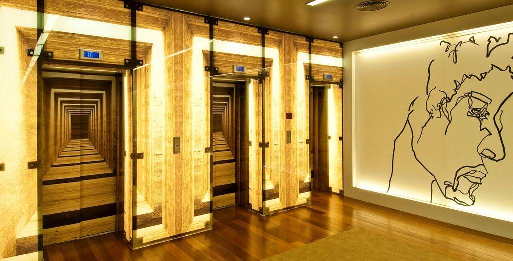 Un hôtel résolument moderne et design - Hôtel Holiday Inn Porto Gaia 4* Porto