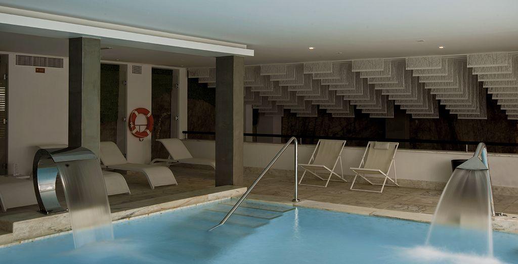 De retour, faites-vous chouchouter dans le Spa installé dans une ancienne carrière de marbre...