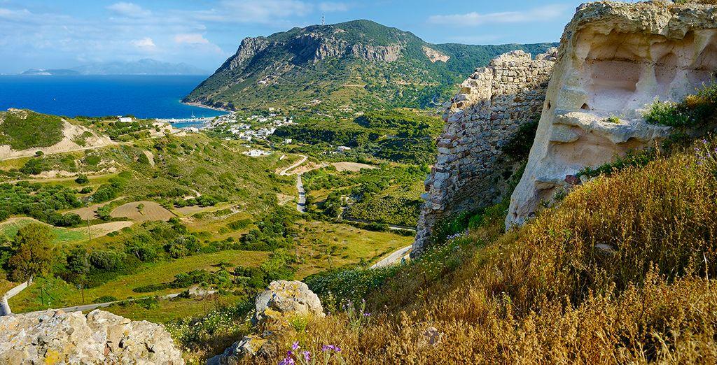 Direction l'île de Kos, à proximité d'Agios Fokas