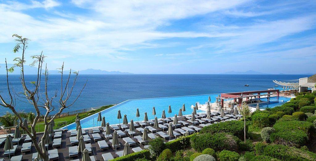 Nous vous installons au Michelangelo Resort & Spa 5*