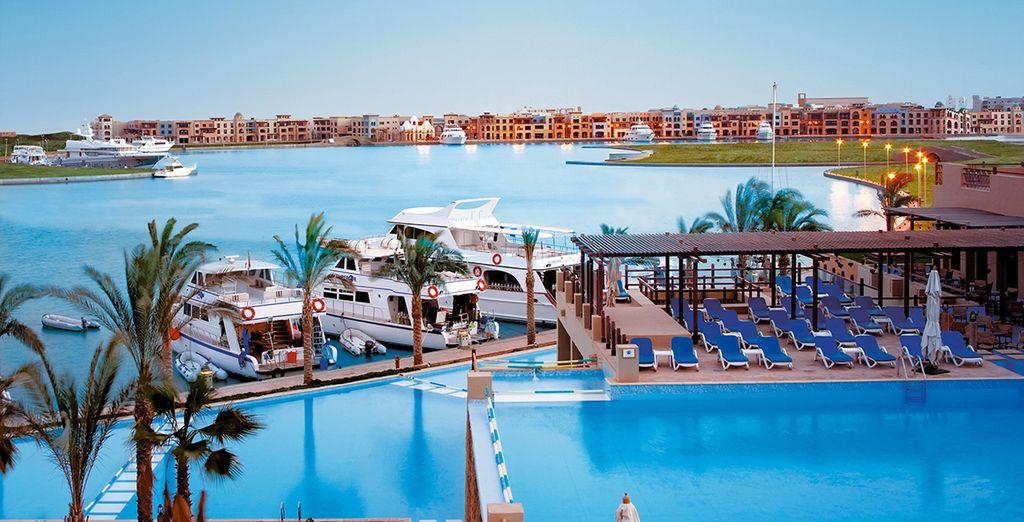 Envie de découvrir l'Egypte ? - Marina Lodge 4* ou en combiné avec la Croisière Passion du Nil Marsa  Alam