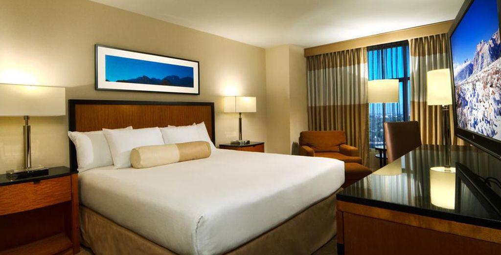 Hôtel de luxe tout confort avec chambre double et à proximité de toutes activités