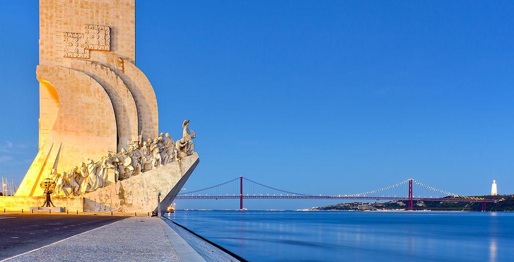 Longez les bords du Tage pour découvrir les trésors architecturaux...