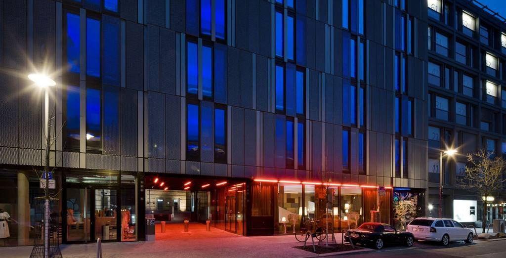 Cet hôtel 4* à la décoration moderne et design...