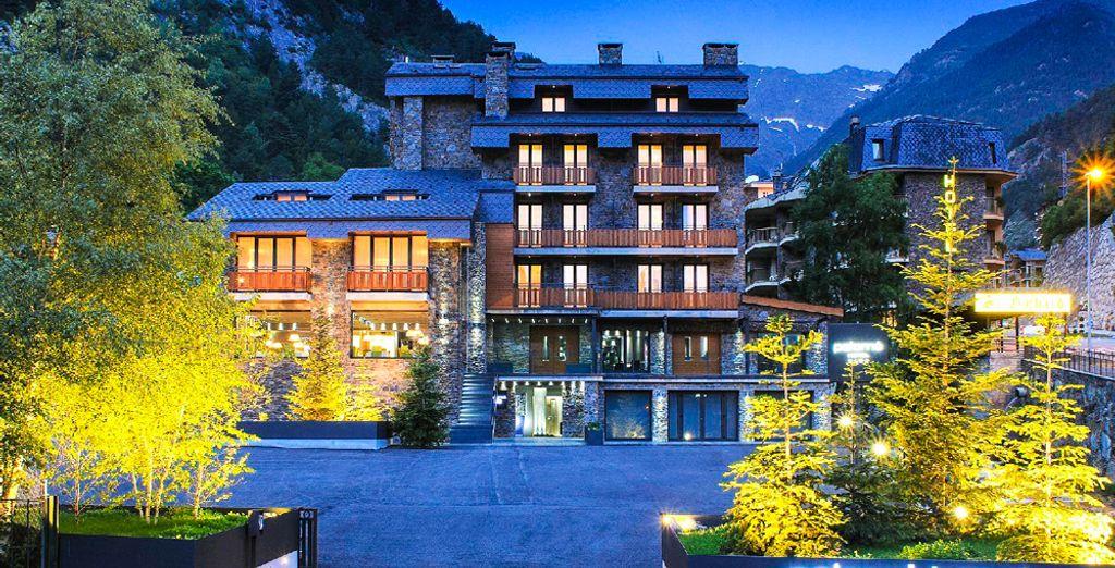 Hôtel de luxe à Arinsal au cœur d'Andorre