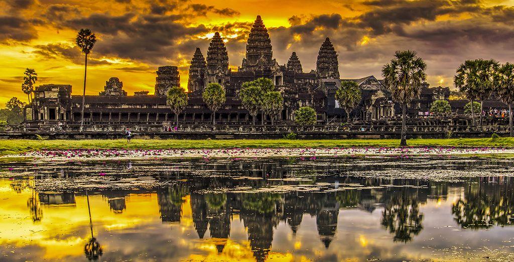 A l'éblouissante Angkor