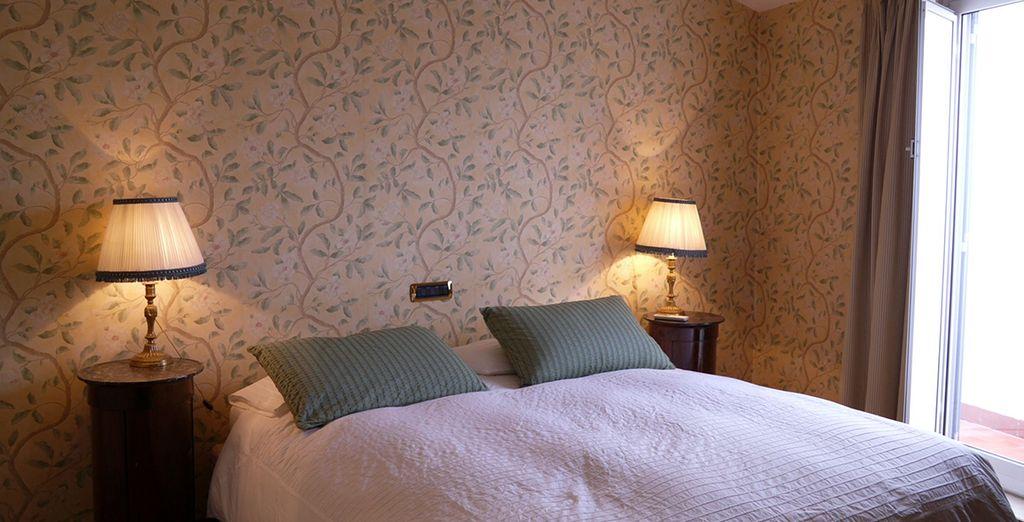 La première chambre spacieuse et lumineuse