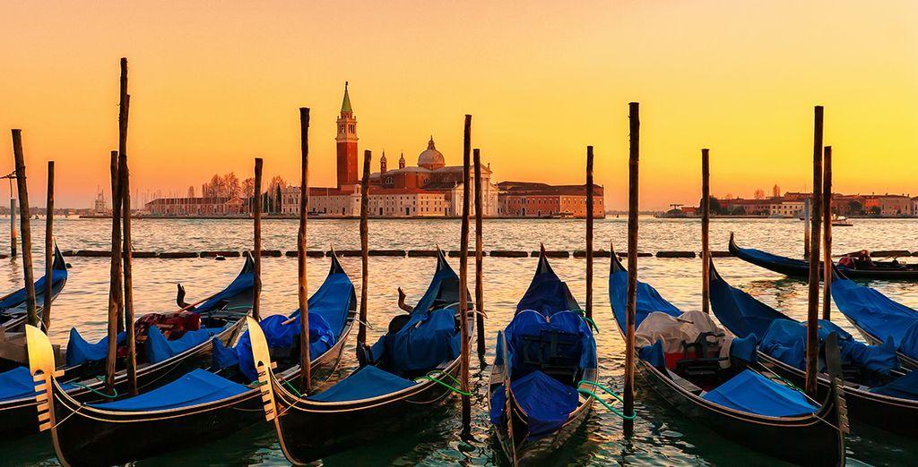 Envolez-vous pour la belle Venise !