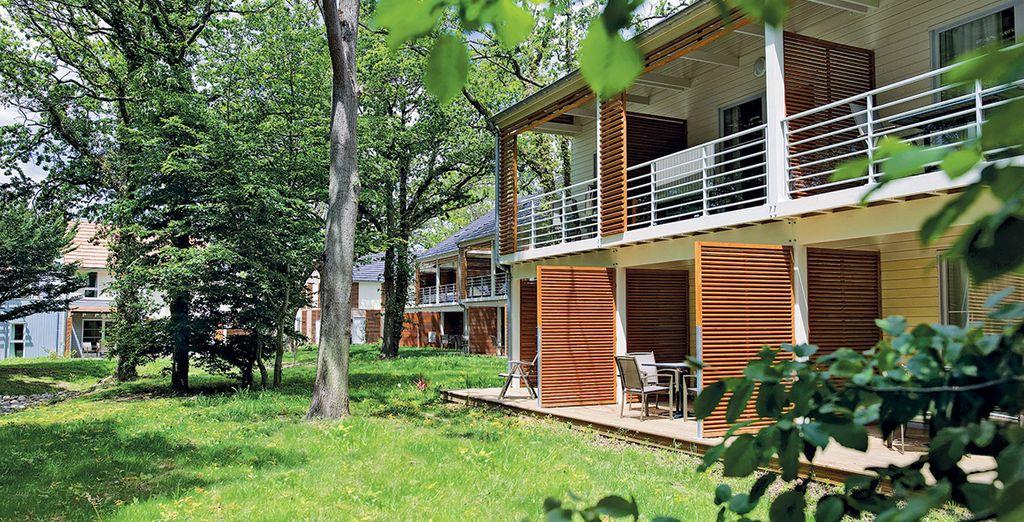 Une belle résidence respectueuse de la nature - Résidence Pierre et Vacances Le Domaine du Bois de la Grée Pornichet