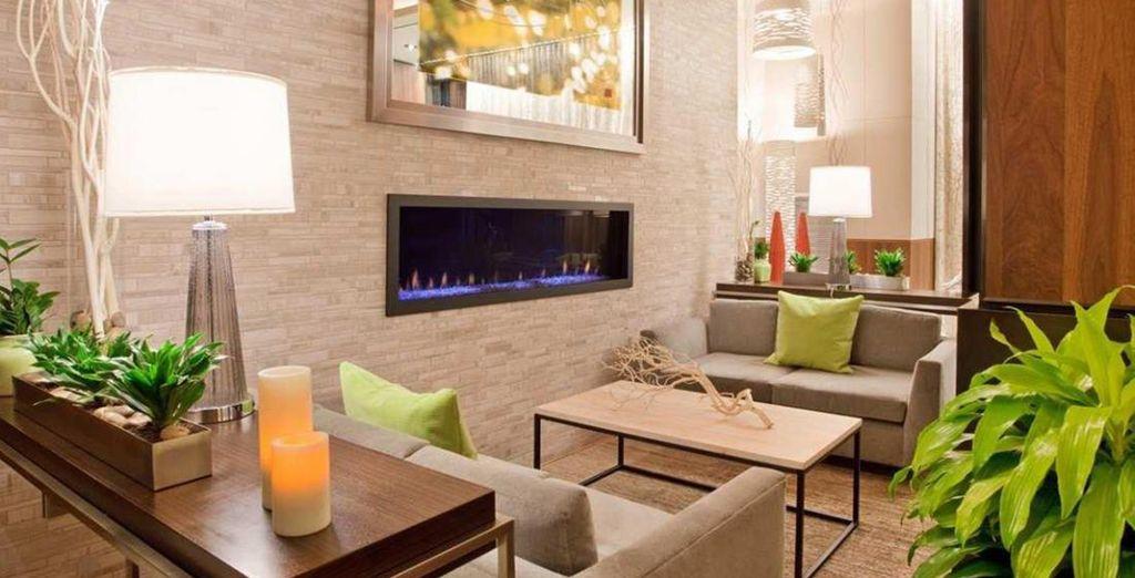 Dans un établissement 4* luxueux - Hilton Garden Inn Central Park South NYC 4* New York