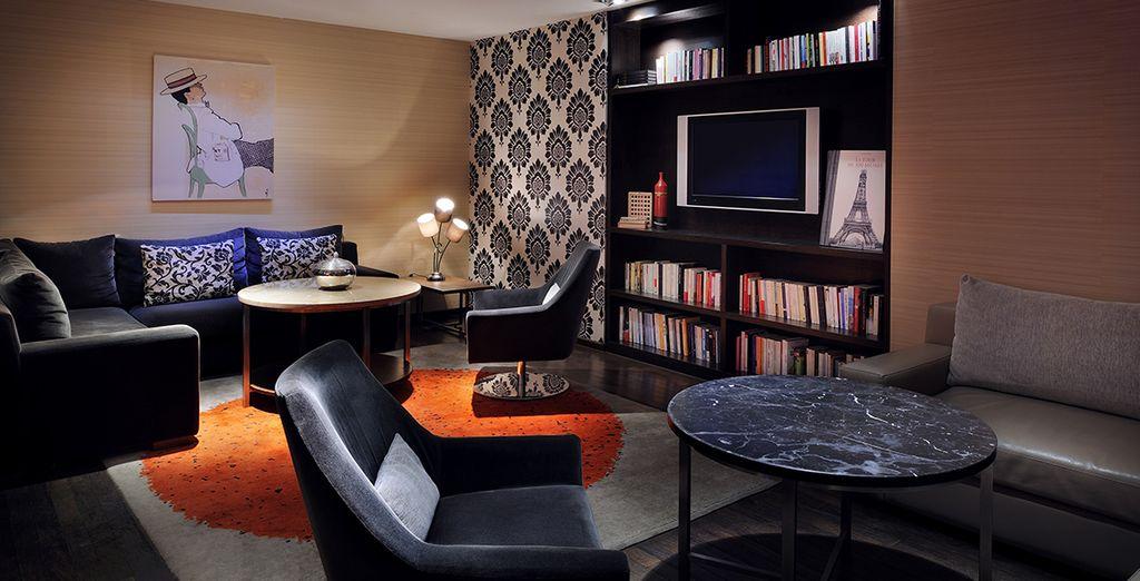 Poussez les portes du Marriott Rive Gauche, élégant et luxueux