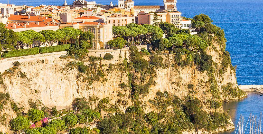 Direction le Rocher - Monte-Carlo Bay Hotel & Resort 4* Monte Carlo