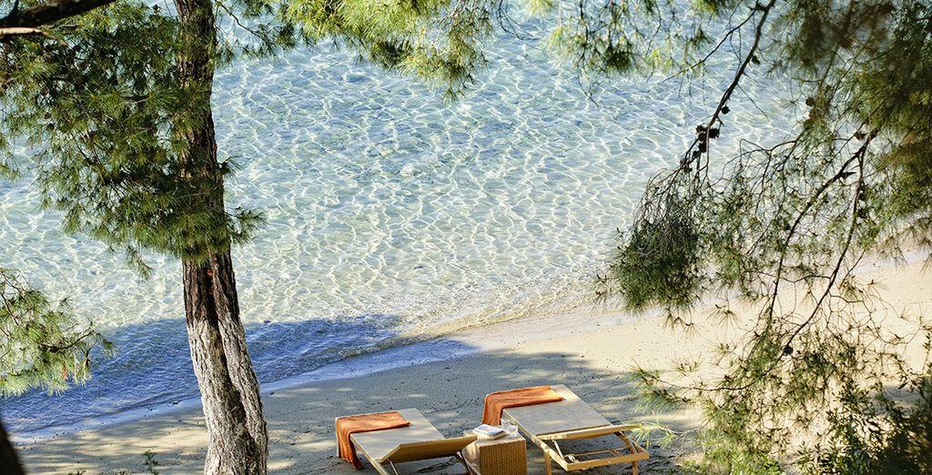 Bienvenue sur l'île de Poros, pour un moment intimiste...