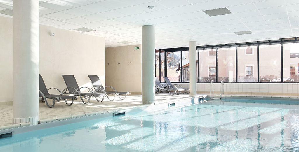 Au retour d'une journée de découvertes, rejoignez la piscine