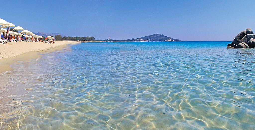 Au bord des eaux cristallines de la Sardaigne