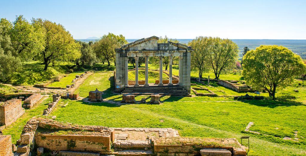 Visiterez des sites archéologiques à couper le souffle