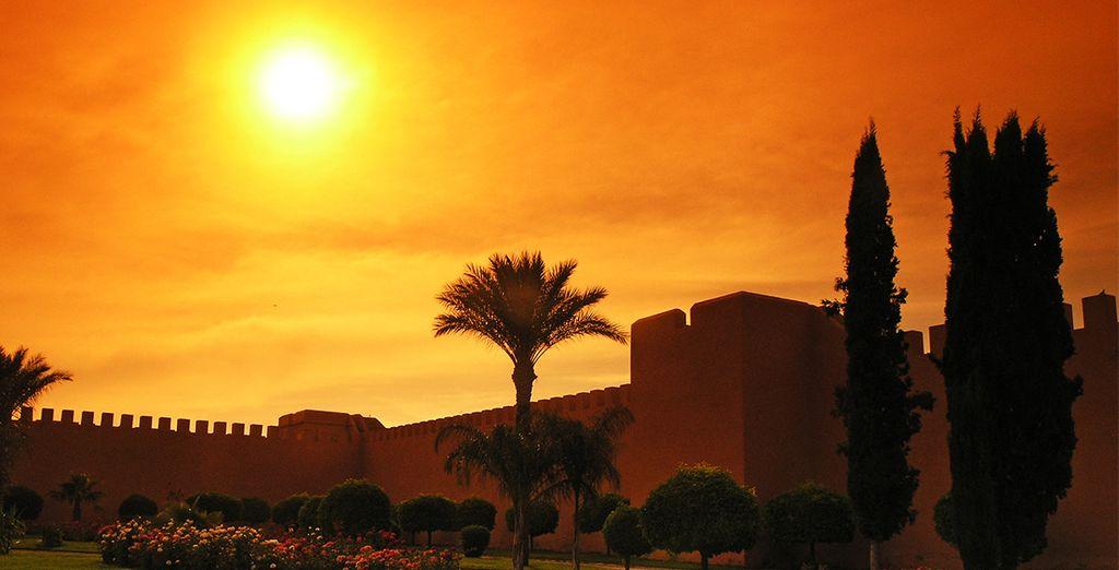 Bon séjour à Marrakech !