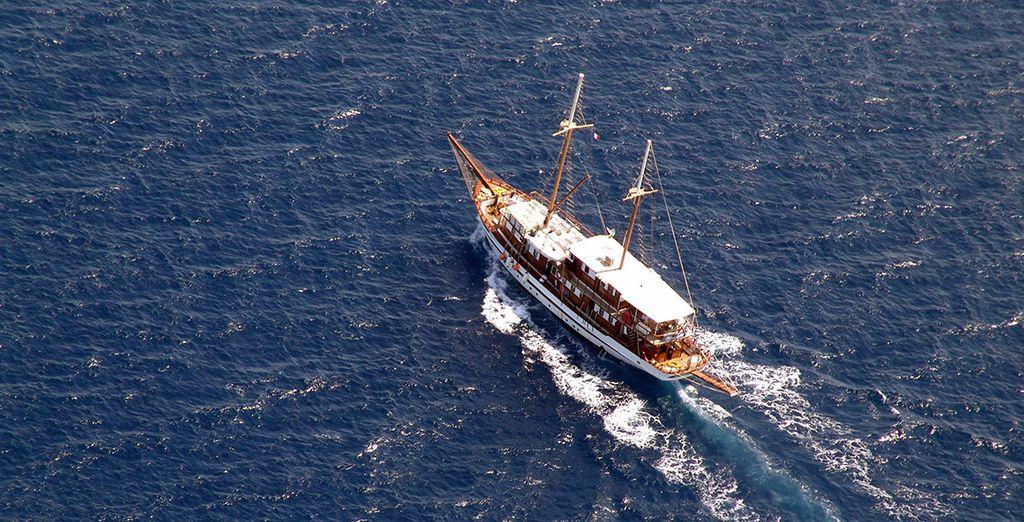 Direction les perles des Cyclades