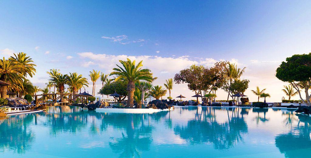 Plongez dans une atmosphère de détente... - Grand Hôtel Melia Salinas 5* Costa Teguise