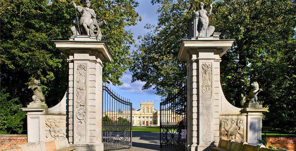 Poussez les portes des palais néo-classiques