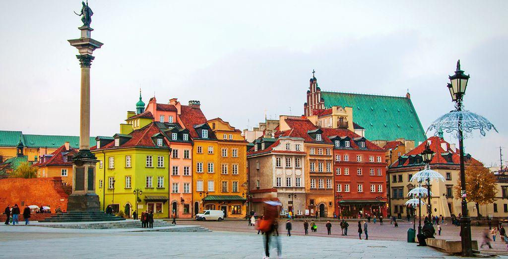 Visitez une ville pleine de charme