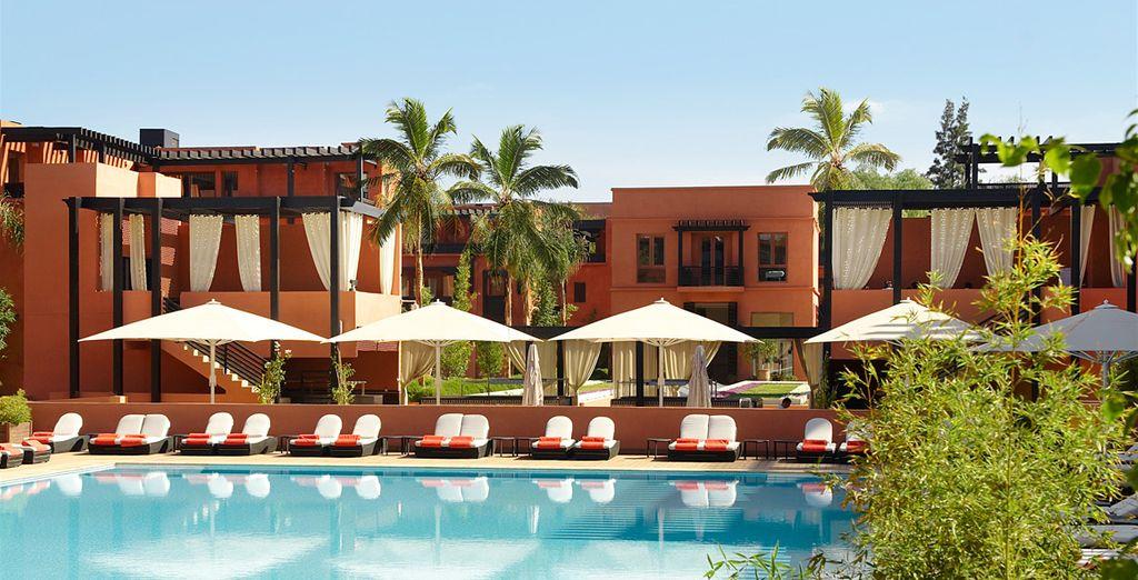 Offrez-vous un écrin de luxe et de douceur - Hôtel & Ryads Barrière Le Naoura Marrakech 5* Marrakech