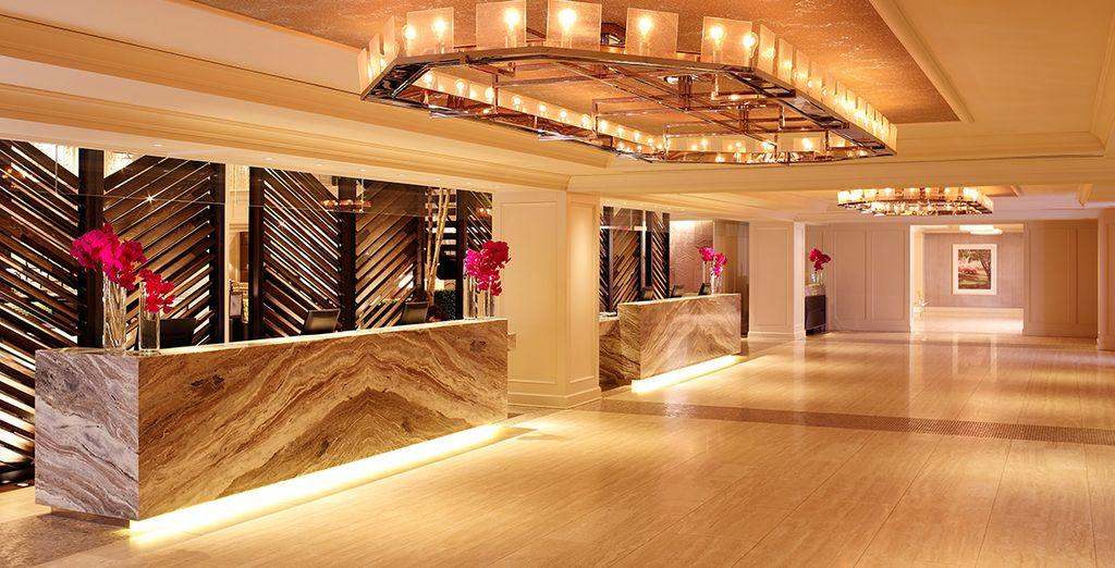 Que nous vous avons réservé un séjour d'exception au sein du Park Central Hotel New York City 4*