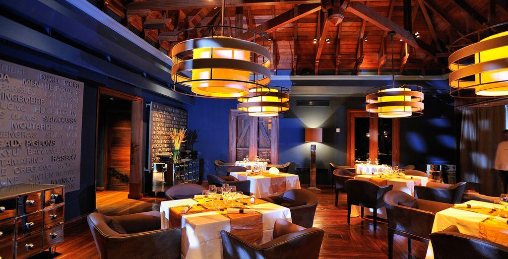 Vous pourrez aussi savourer la cuisine indienne du restaurant Cilantro