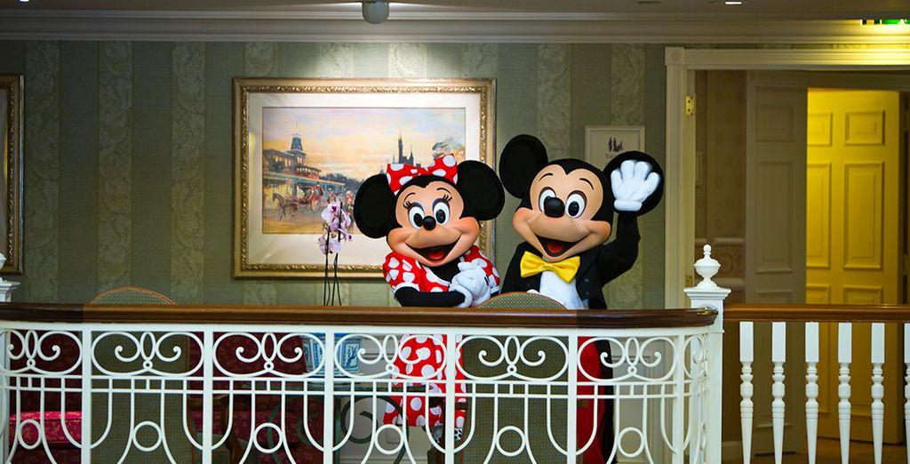 Au cœur de la plus magique des atmosphères - Disneyland® Hotel 5* Disneyland Paris