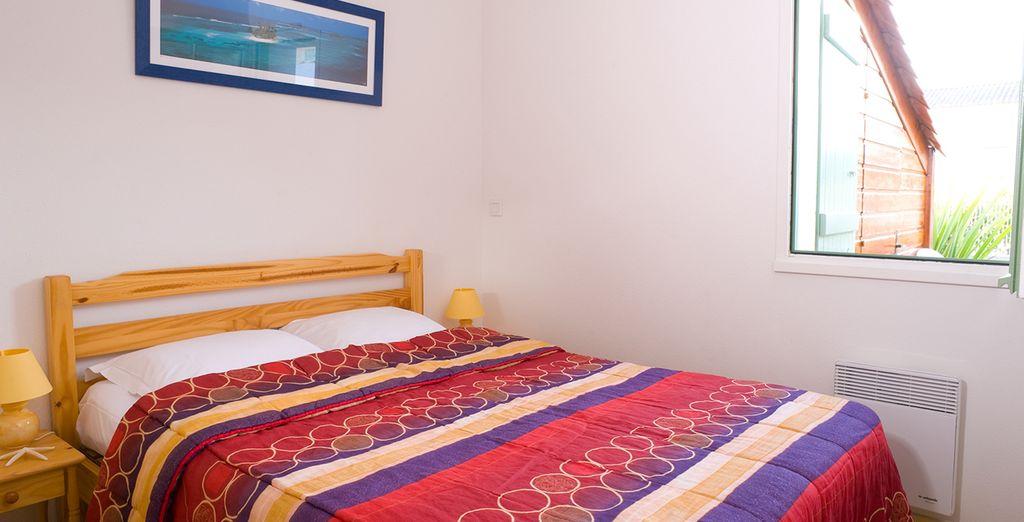 Appréciez également le confort de votre chambre...