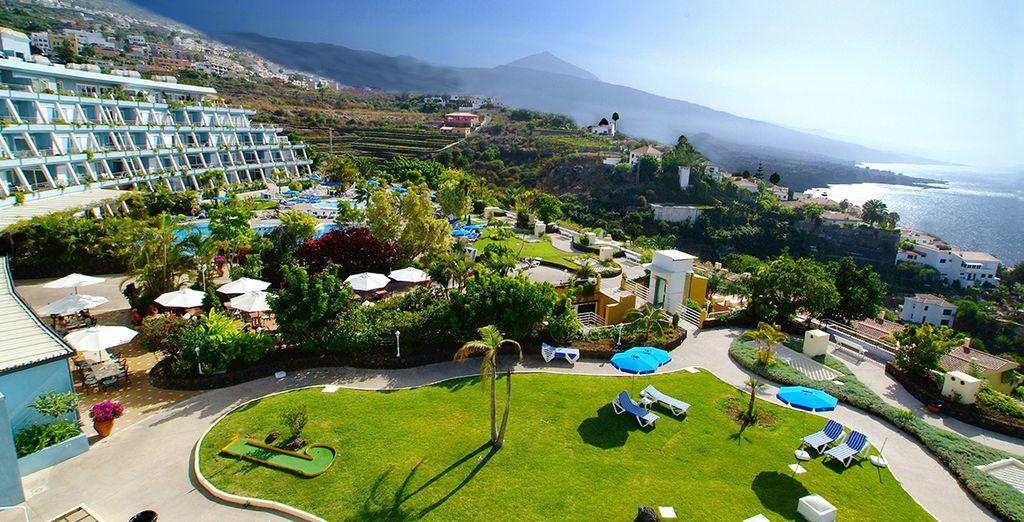 Dans un havre de paix entouré de jardins - La Quinta Park Suites & Spa 4* Puerto de la Cruz