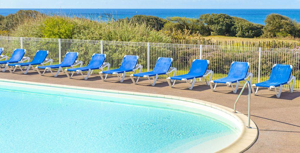 Et ses piscines chauffées vous seront agréables tout au long de vos vacances