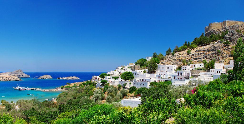 Venez vous ressourcer au bord des eaux de la mer Égée