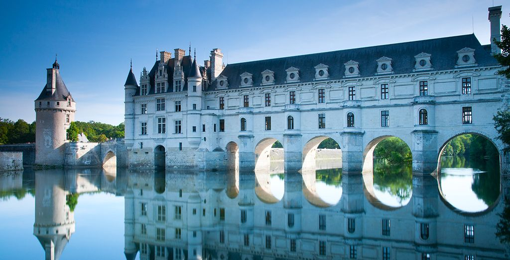 La découverte de la région mérite le détour avec les châteaux de la Loire