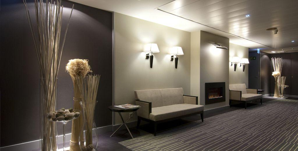 Un hôtel moderne au confort et service inégalables