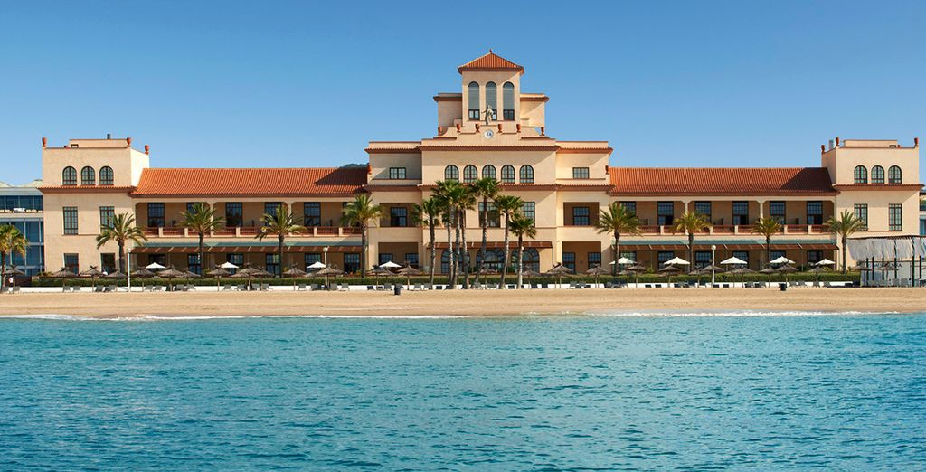 La Méditerranée se met à vos pieds... - Hôtel Méridien Ra Beach Hotel & Spa 5* El Vendrell