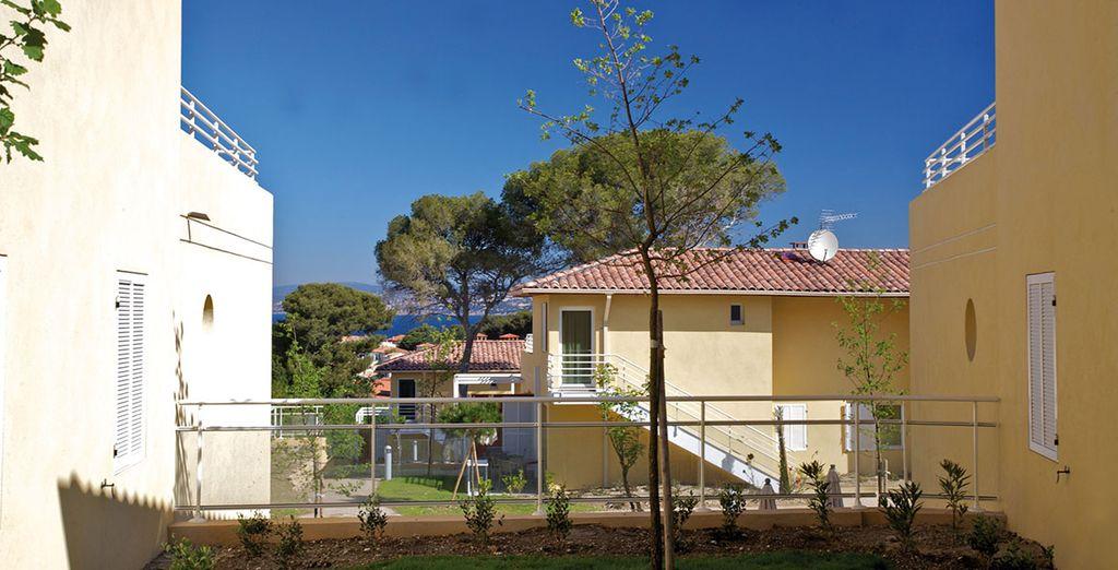 Et la terrasse pour profiter du soleil