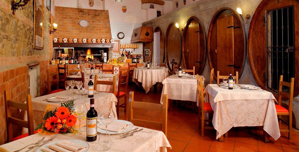 Vous pourrez déguster le meilleur de la cuisine italienne traditionnelle