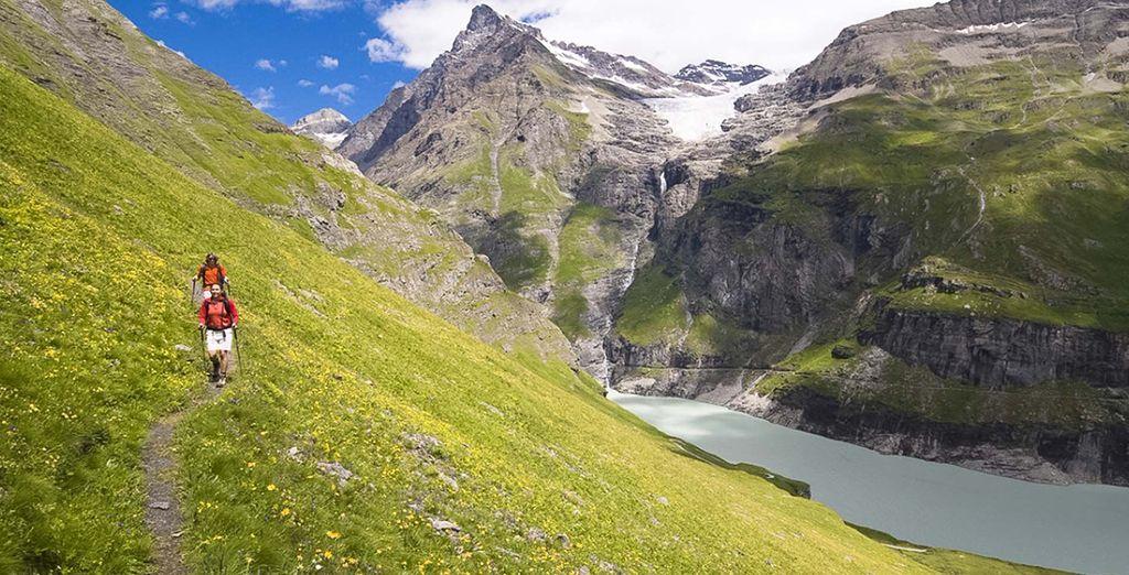 Bienvenue au Domaine des 4 vallées, dans la station alpine de Verbier