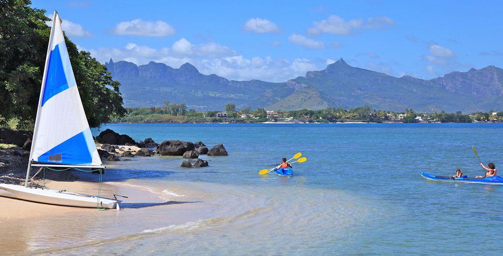 Si vous êtes friand d'activités nautiques, direction la plage