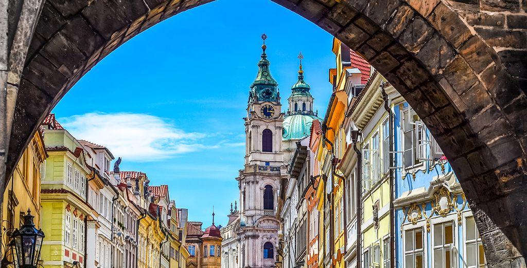 Puis partez à la découverte de Prague
