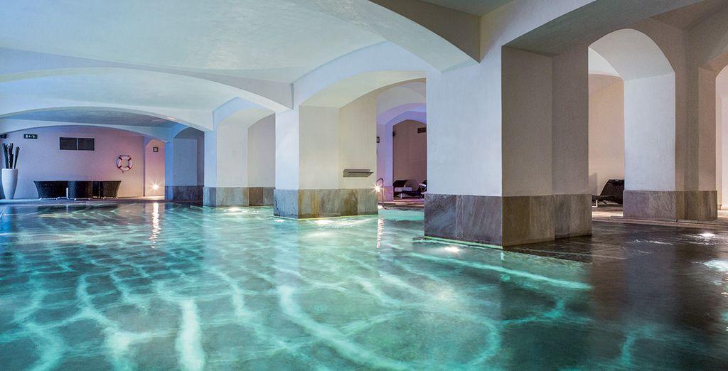 Pour vous, le spa est en accès illimité
