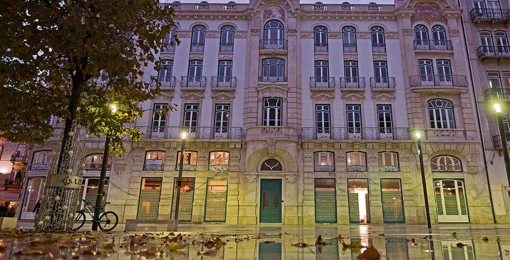 Ce 4* prend ses quartiers dans un édifice historiques aux influences Art Nouveau